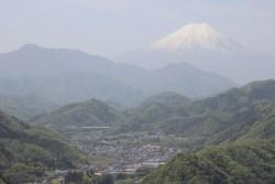 6途中からも富士山